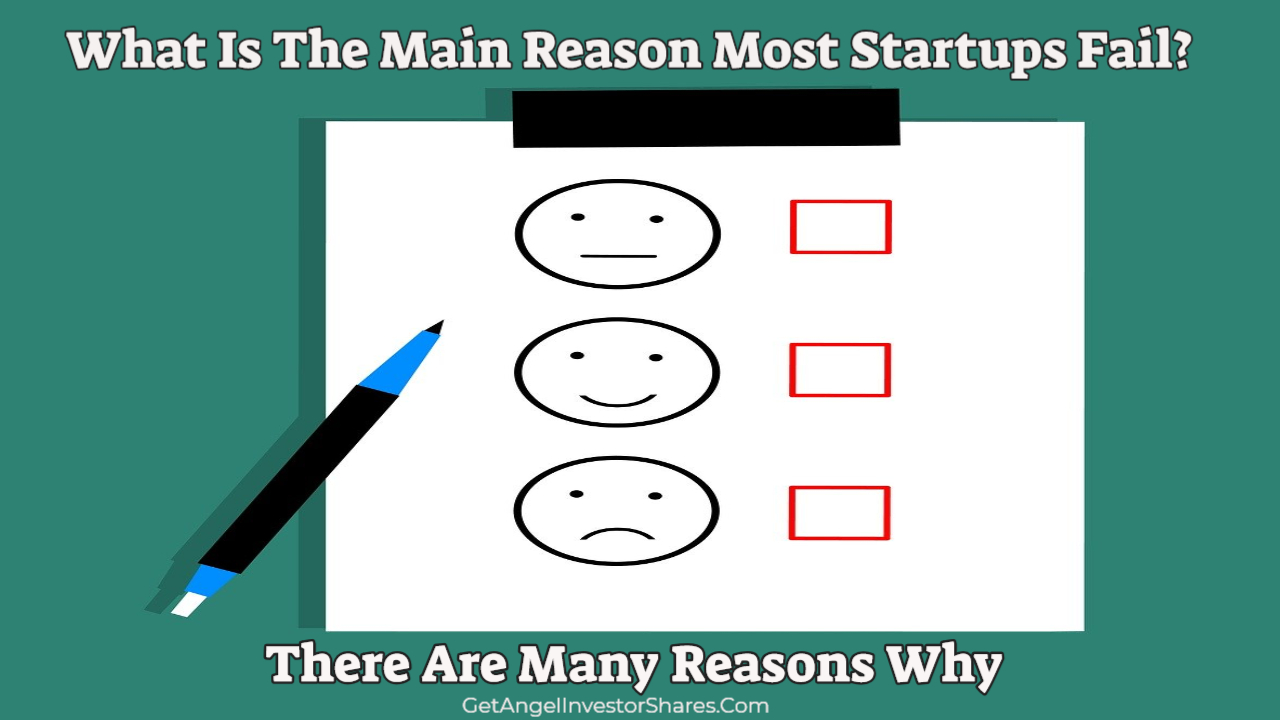 What Is The Main Reason Most Startups Fail?