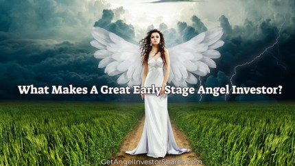 What Makes A Great Early Stage Angel Investor?