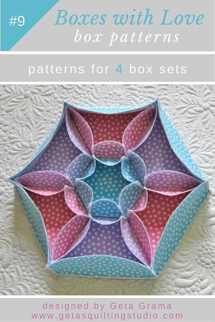 Pattern Boxes : pattern, boxes, Fabric, Boxes, Patterns
