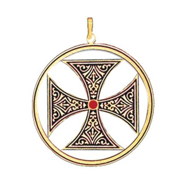 Knights Templar Cross Jewelry