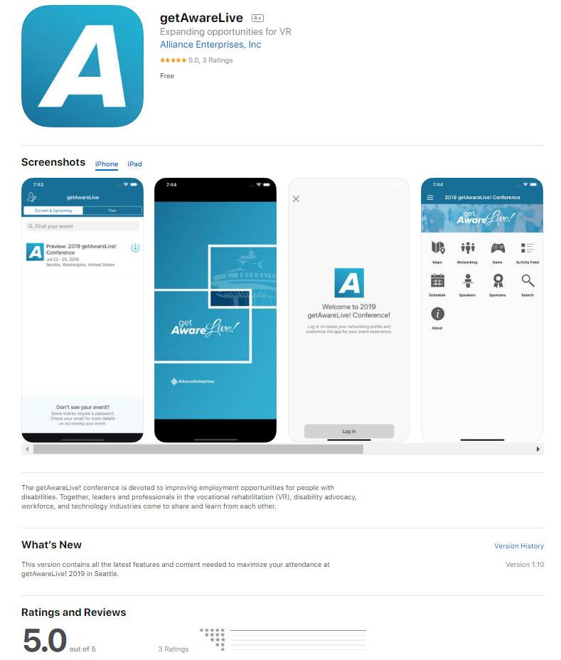 Download App - getAwareLive