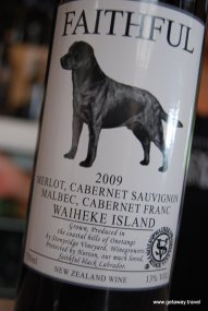 We love any wine with a dog on the label!