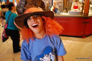Our own Mad Hatter