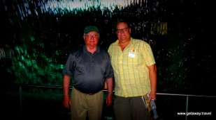 Jon & Paul under the Guinness waterfall