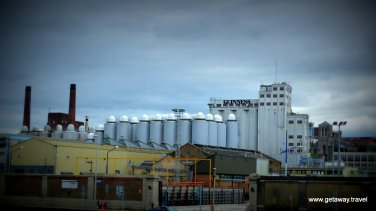 The Guinness plant