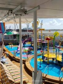 Kids pool area