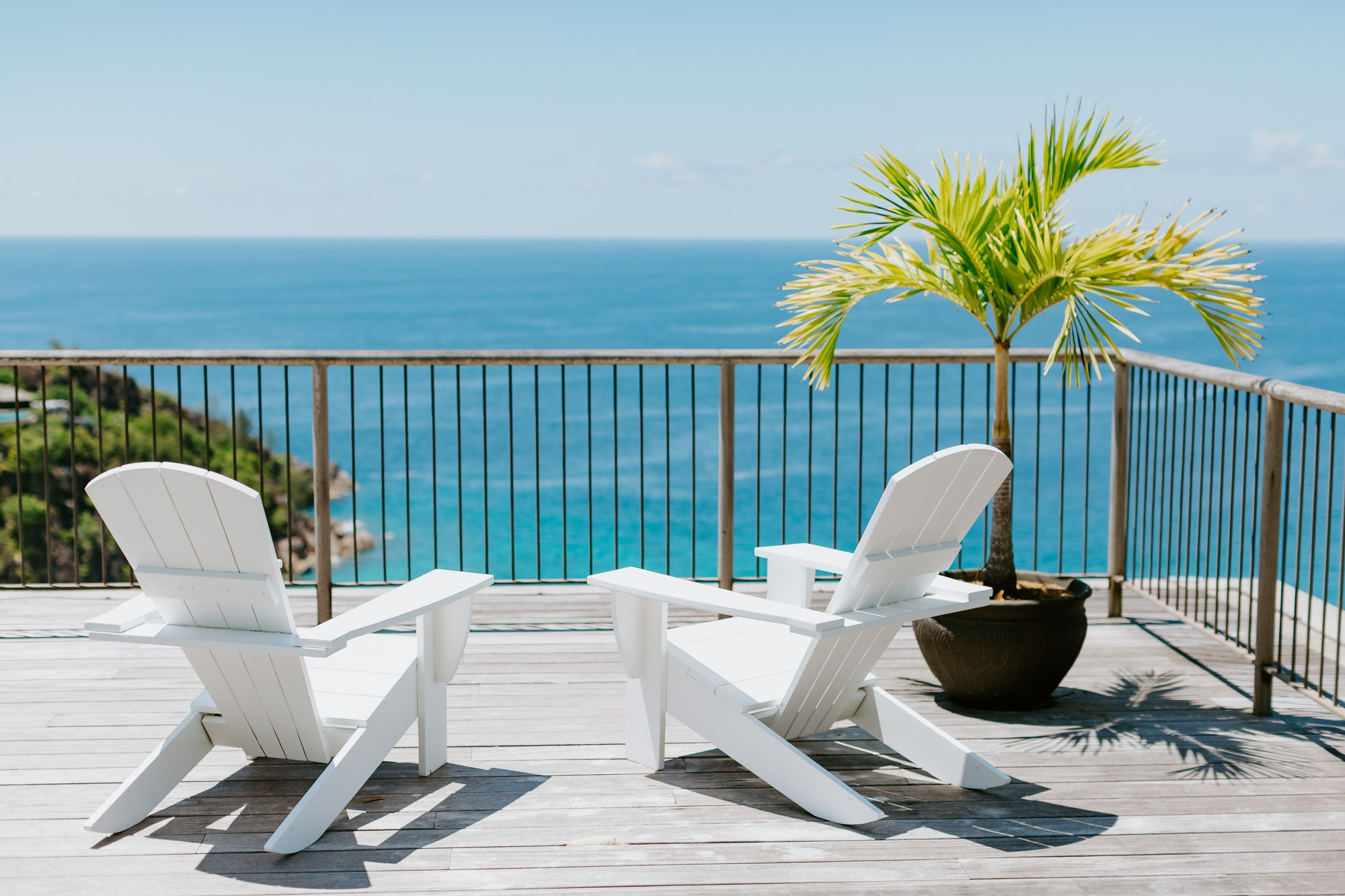 beach resort sea view