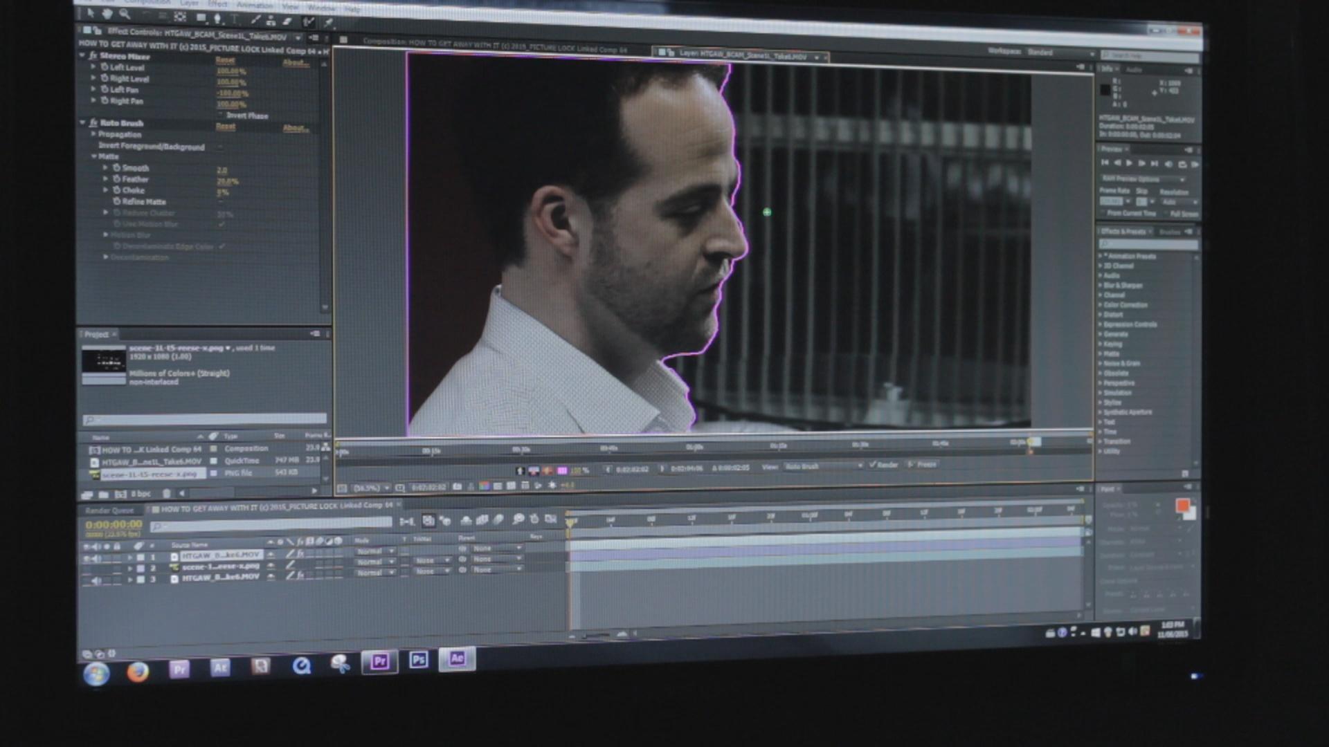 Background VFX demo