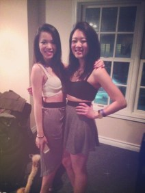 my twin for the night :)