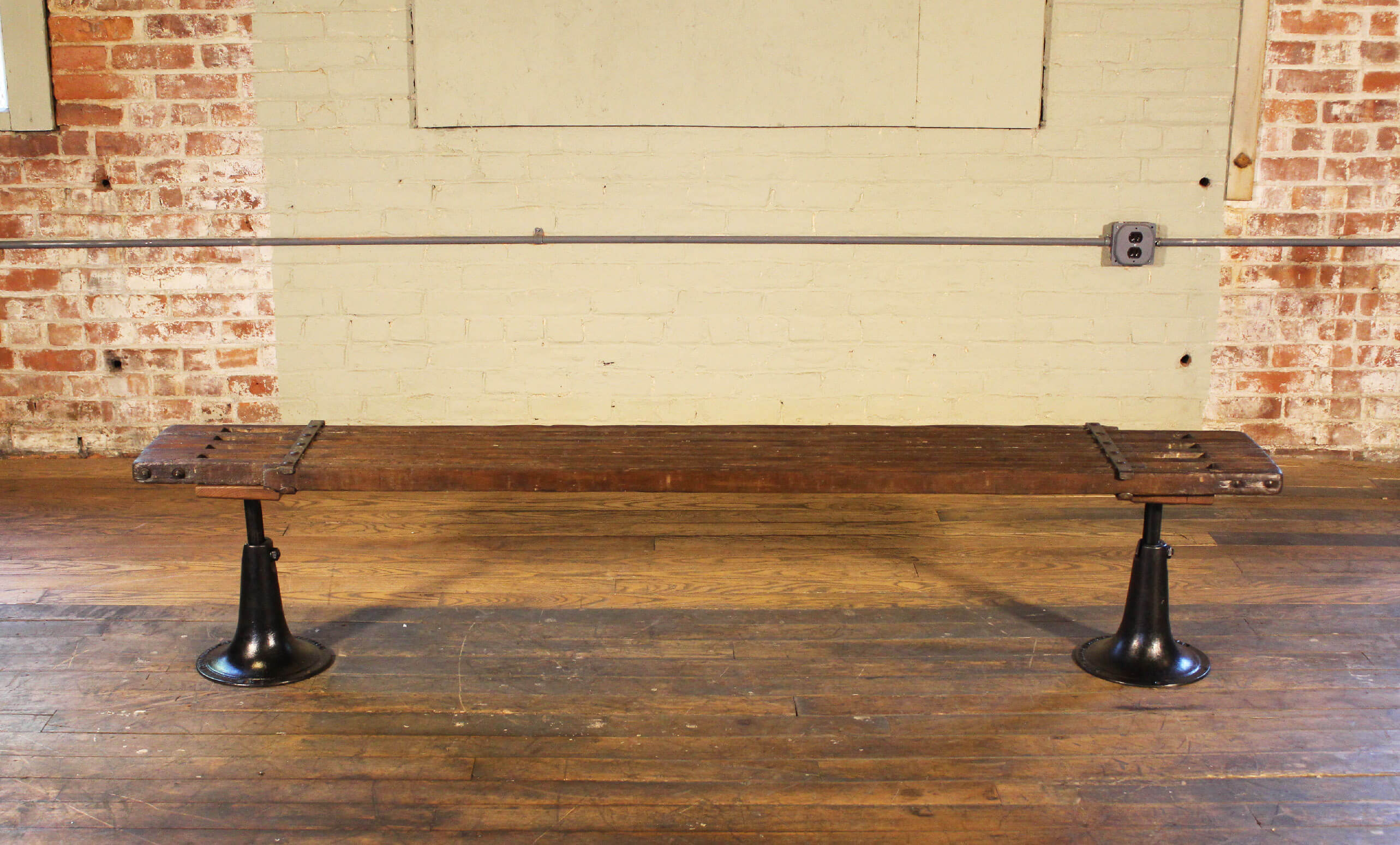 Scaffold Bench  Vintage Industrial by Get Back Inc