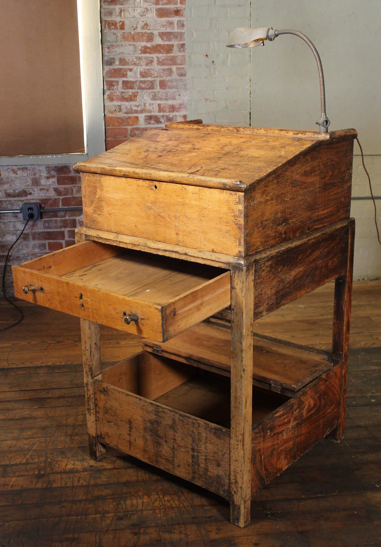 Host Station  Vintage Industrial by Get Back Inc