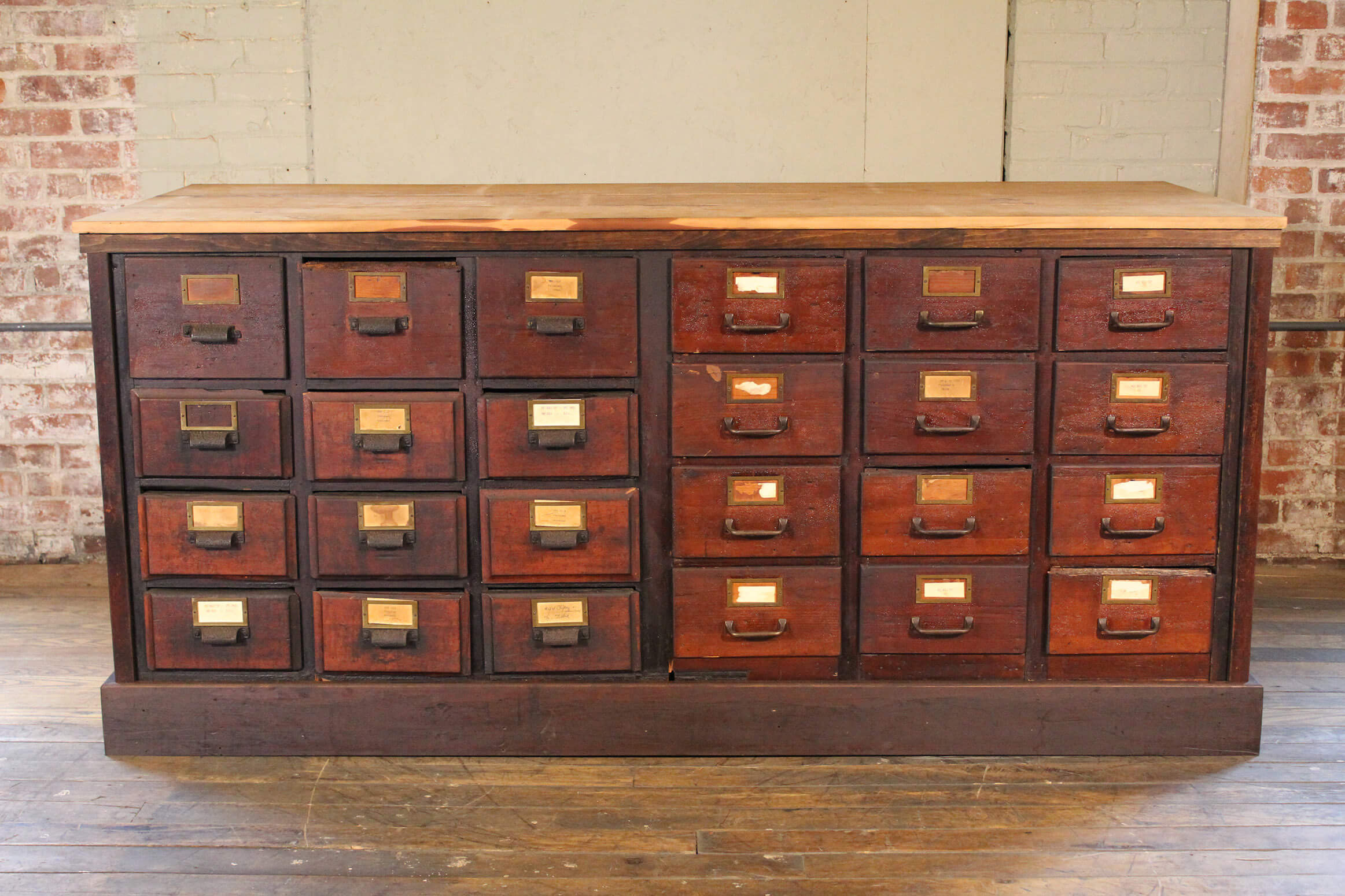 Apothecary Cabinet Vintage Industrial By Get Back Inc