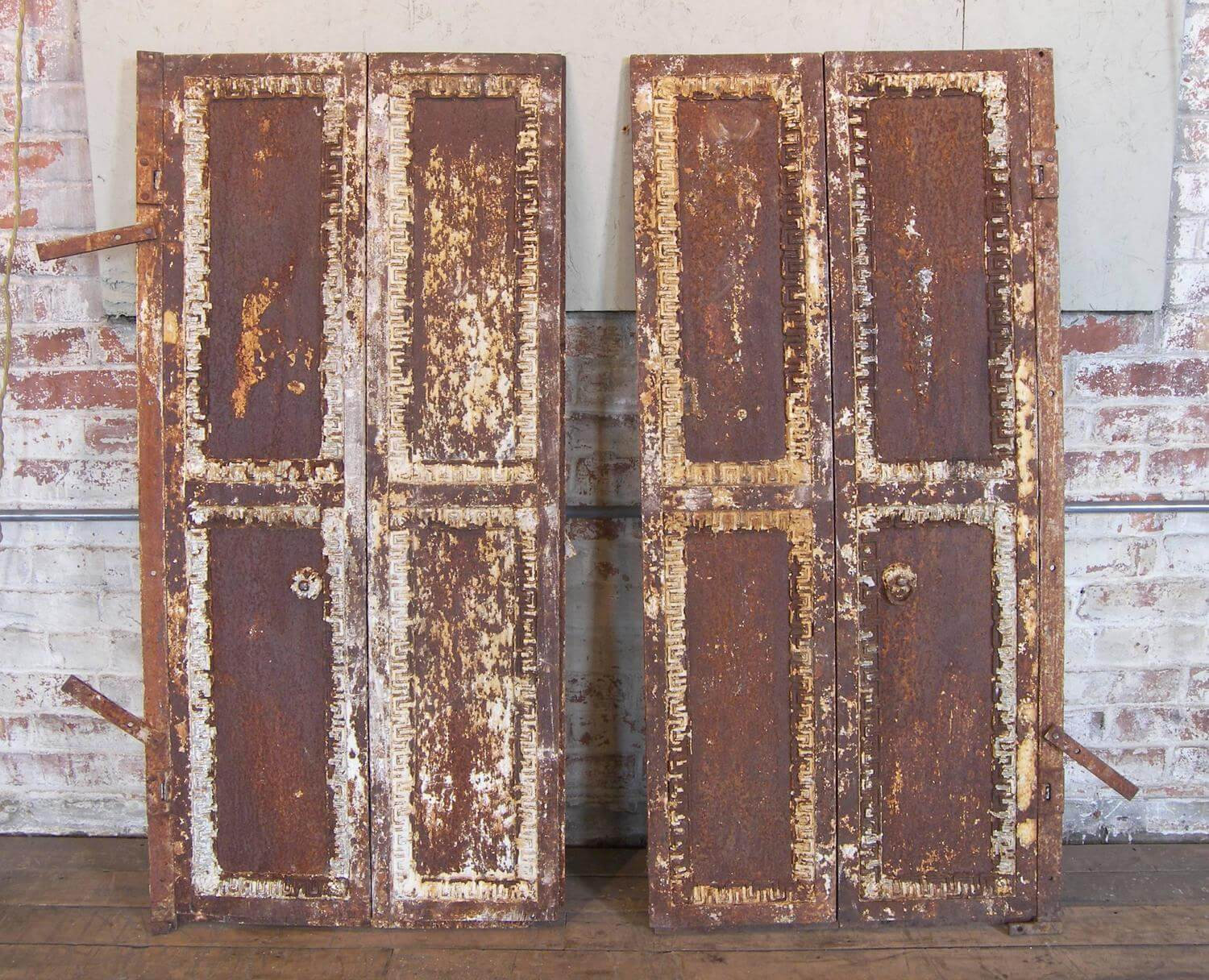Neoclassical Iron Doors  Vintage Industrial by Get Back Inc