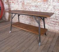 Industrial Modern Sofa Table - Vintage Industrial by Get ...