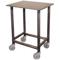 Industrial-Modern Rolling Bar Cart - Get Back, Inc.