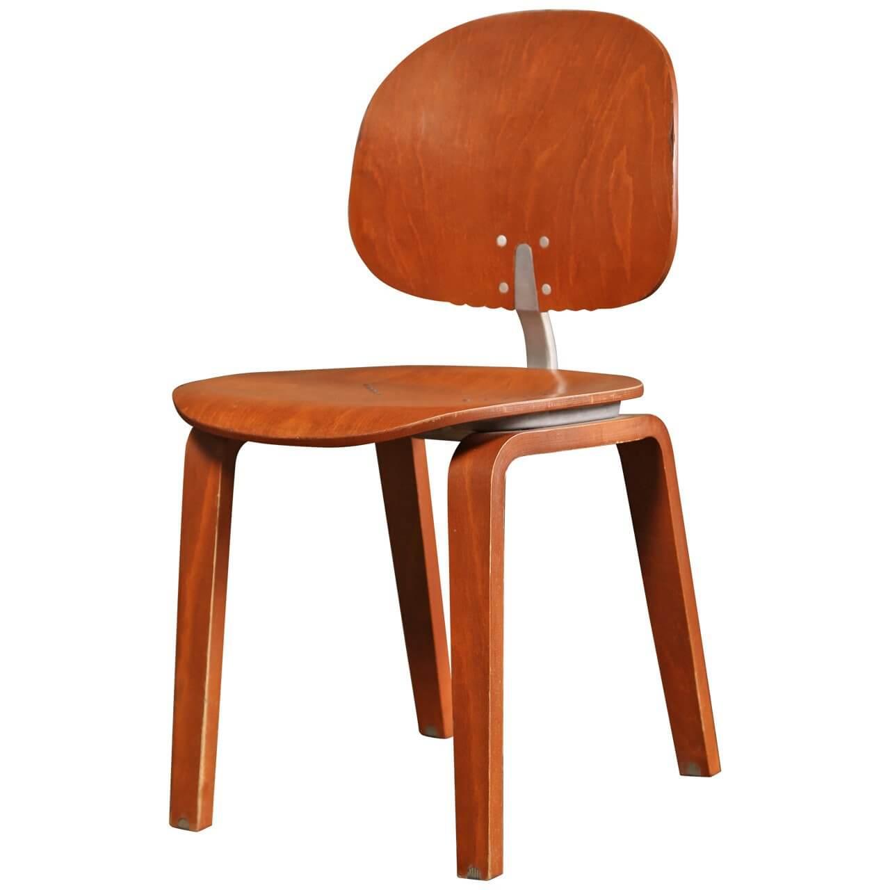 Piretti Xylon Bent Plywood Chair  SOLD  Vintage