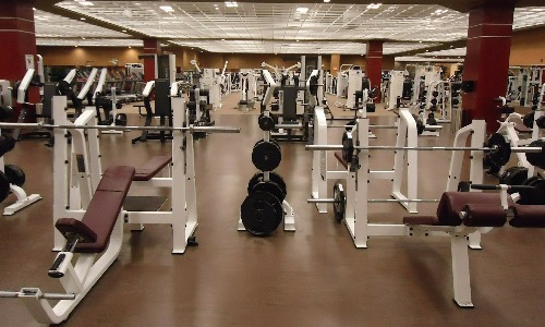 Is a gym a place for rehab?