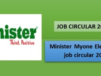 minister group job 2021