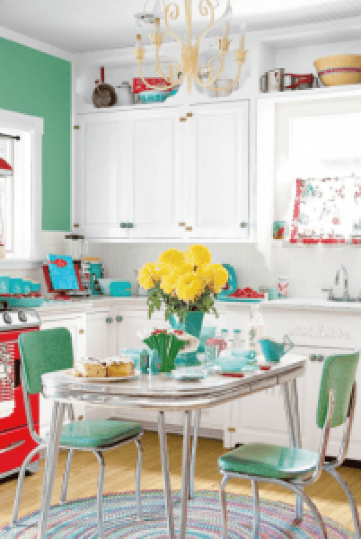 Nice green paint for kitchen walls #kitchenpaintideas #kitchencolors #kitchendecor #kitcheninspiration