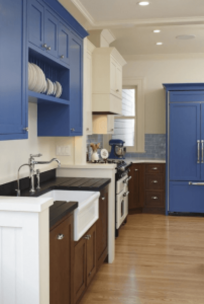 Popular beautiful kitchen colors #kitchenpaintideas #kitchencolors #kitchendecor #kitcheninspiration