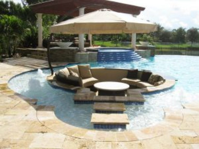 Great swimming pool architecture design #swimmingpooldesign #pooldeckandpatiodesigns #smallbackyardpools