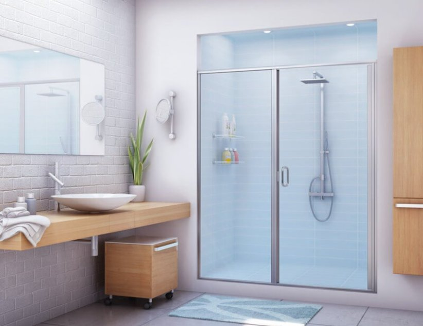Wonderful bathroom interiors for small bathrooms #halfbathroomideas #smallbathroomideas #bathroomdesignideas