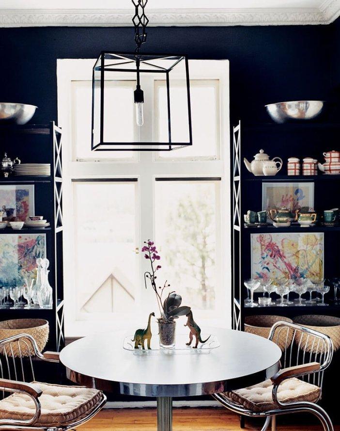 Cool dining room interior #diningroompaintcolors #diningroompaintideas