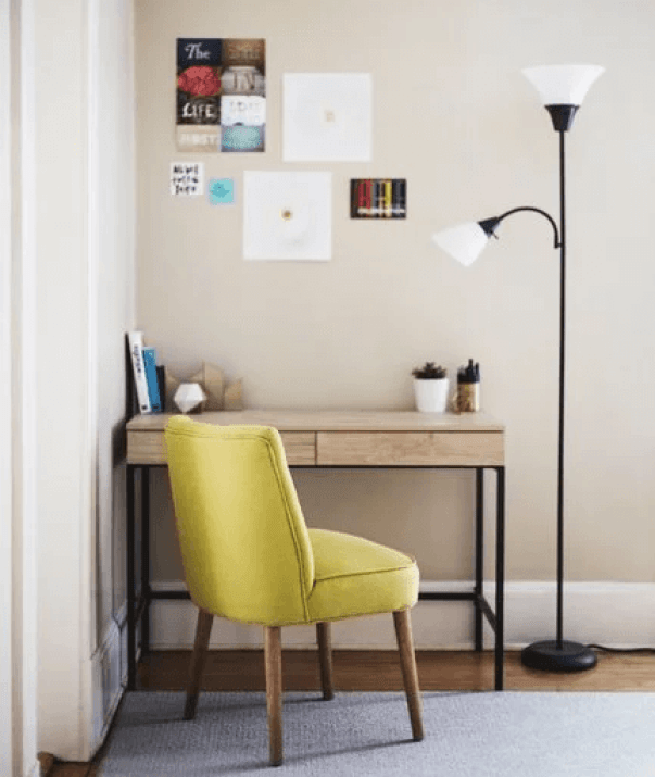 Nice small office decorating ideas #homeofficedesign #homeofficeideas #officedesignideas