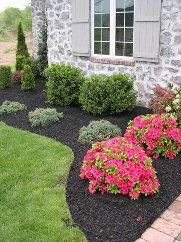 Popular backyard landscape ideas before and after #backyardlandscapedesign #backyardlandscapingidea #backyardlandscapedesignideas