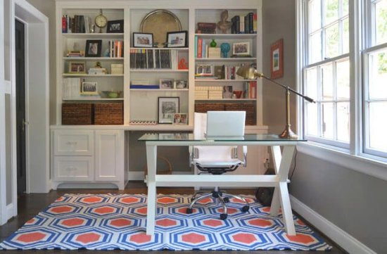 Beautiful home office workstation #homeofficedesign #homeofficeideas #officedesignideas