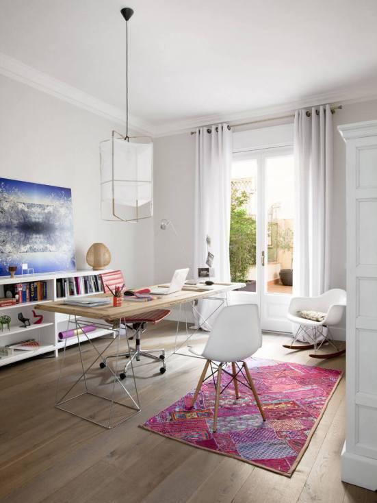 Cool home office desk #homeofficedesign #homeofficeideas #officedesignideas