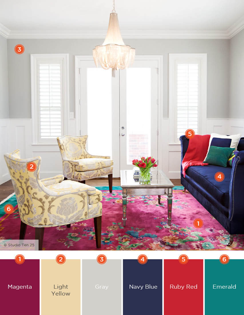 Amazing Latest Blue Living Room Color Schemes #livingroomcolorschemes  #livingroomcolorcombination