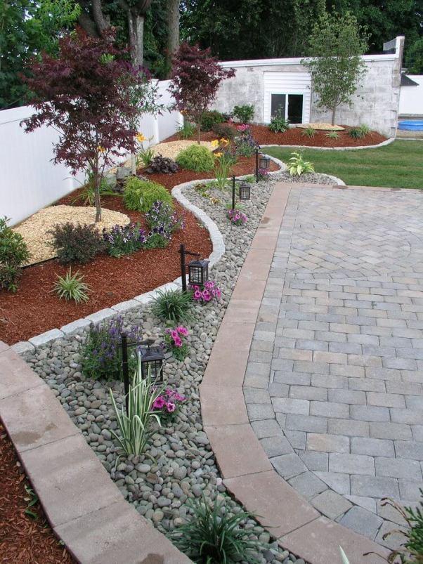 Wonderful backyard landscape design diy #backyardlandscapedesign #backyardlandscapingidea #backyardlandscapedesignideas