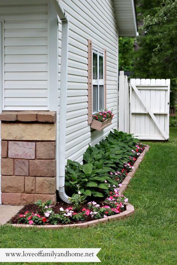 Lovely backyard landscape border ideas #backyardlandscapedesign #backyardlandscapingidea #backyardlandscapedesignideas