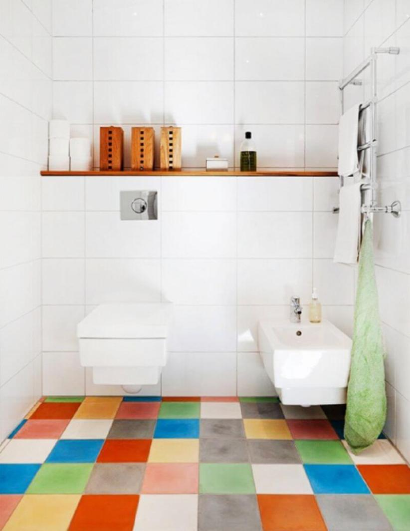 Trending white bathroom floor tile #bathroomtileideas #bathroomtileremodel