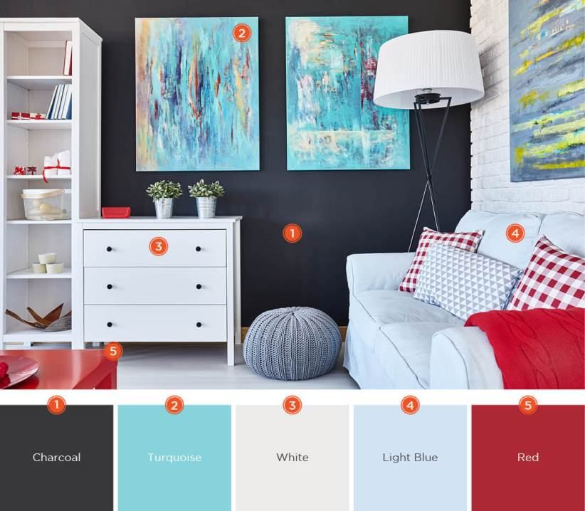 Latest living room color scheme ideas #livingroomcolorschemes #livingroomcolorcombination