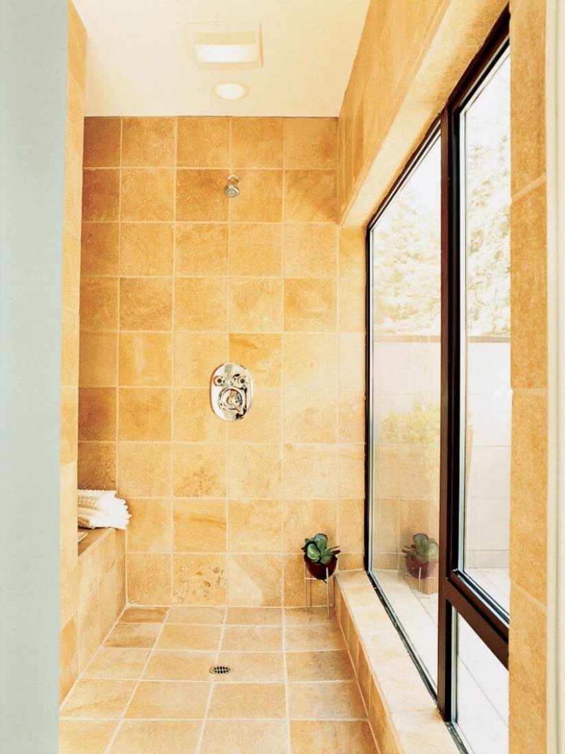 Popular bathroom shower tile ideas #bathroomtileideas #bathroomtileremodel