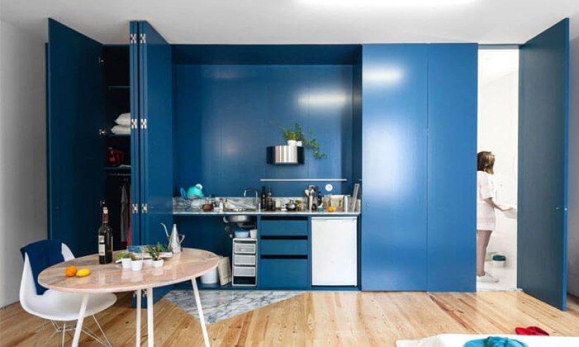 Beautiful minimalist interior design #kitcheninteriordesign #kitchendesigntrends