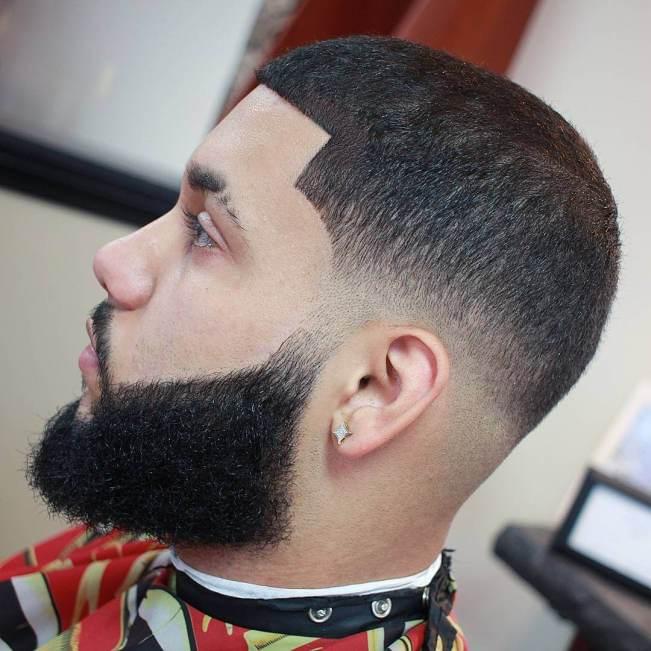 Delight short hair and beard #beardstyles #beardstylemen #haircut #menstyle