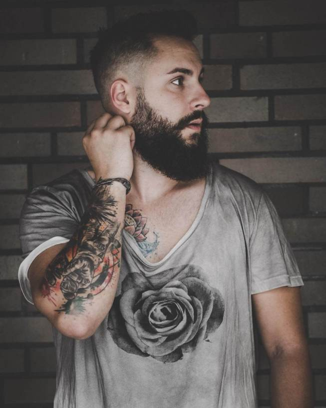 Sensational beard styles for round face #beardstyles #beardstylemen #haircut #menstyle