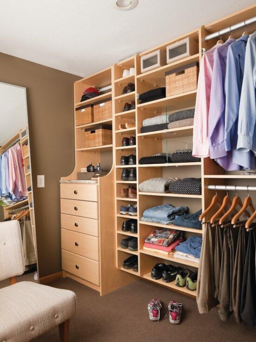 Perfect closet storage organizer #walkinclosetdesign #closetorganization #bedroomcloset