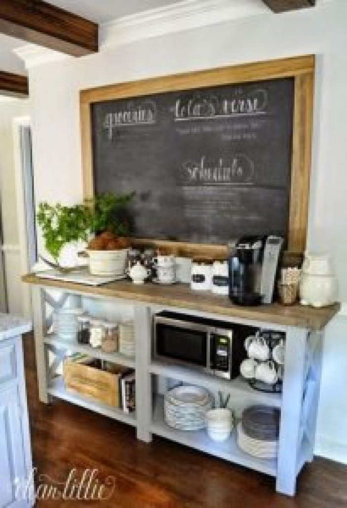 Uplifting wood pallet ideas #coffeestationideas #homecoffeestation #coffeebar