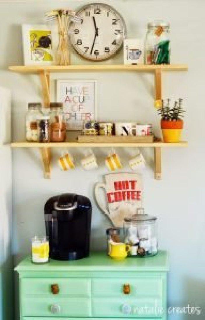 Unique coffee bar sign #coffeestationideas #homecoffeestation #coffeebar