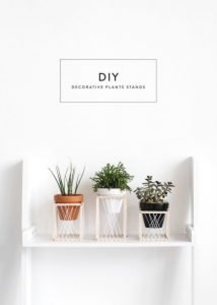 Delight rustic plant stand #diyplantstandideas #plantstandideas #plantstand