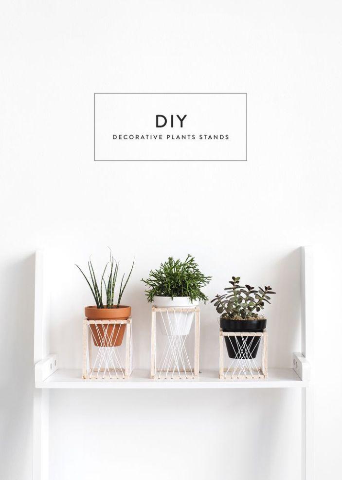 Delight rustic plant stand #diyplantstandideas #plantstandideas #plantstand