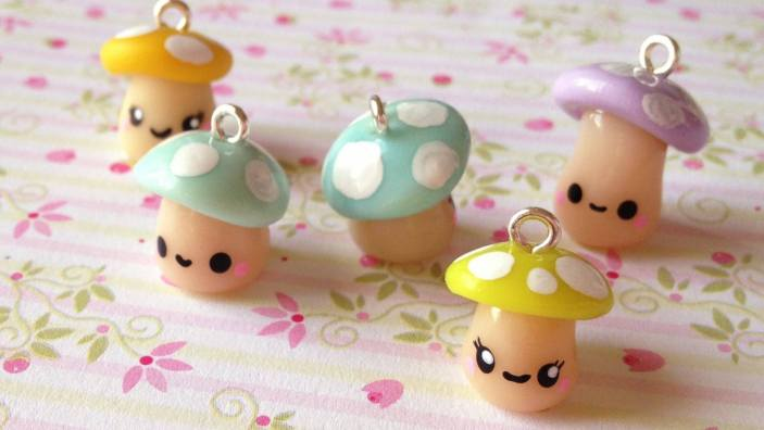 Marvelous cute polymer clay jewelry ideas #polymerclayideas #airdryclayideas #clayideas