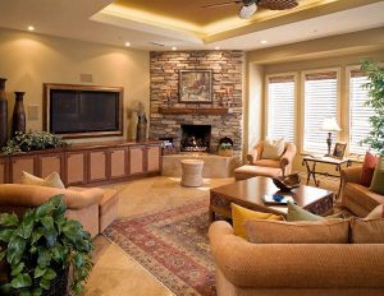 Brilliant contemporary corner fireplace ideas #cornerfireplaceideas #livingroomfireplace #cornerfireplace