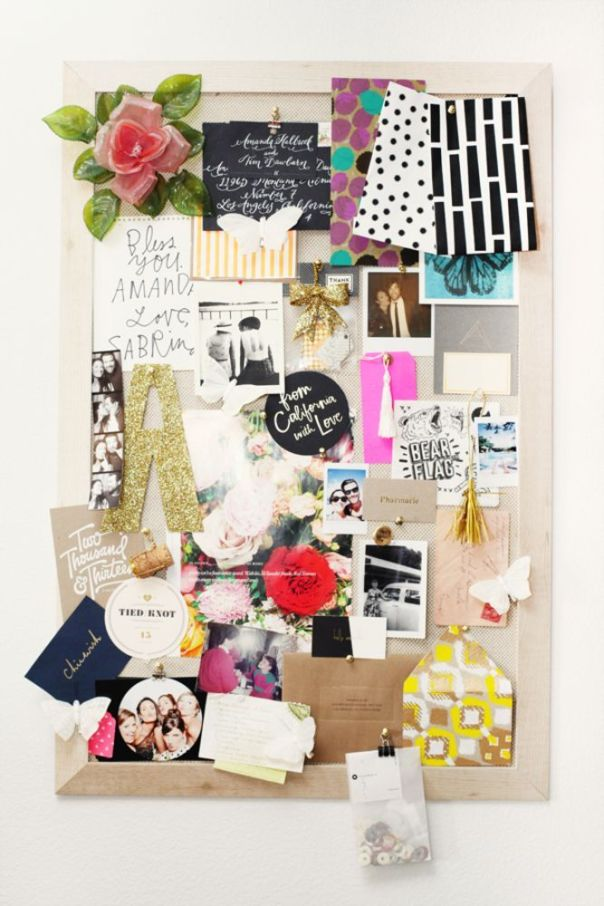 Fantastic cork board decorating ideas pinterest #corkboardideas #bulletinboardideas #walldecor