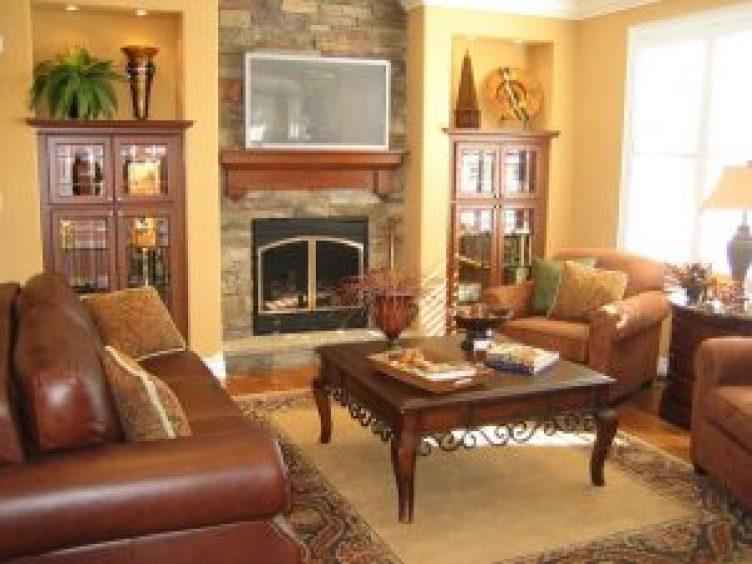 Unbelievable indoor corner fireplace ideas #cornerfireplaceideas #livingroomfireplace #cornerfireplace