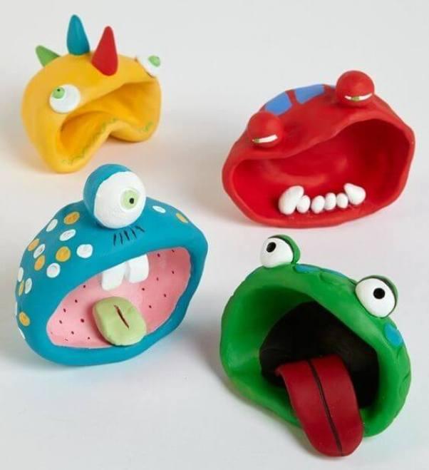 Extraordinary polymer clay birthday gift ideas #polymerclayideas #airdryclayideas #clayideas